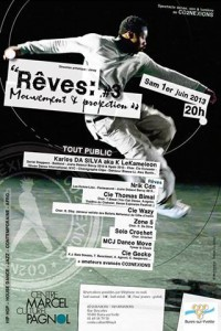 Rêves : Mouvement & Projection #3